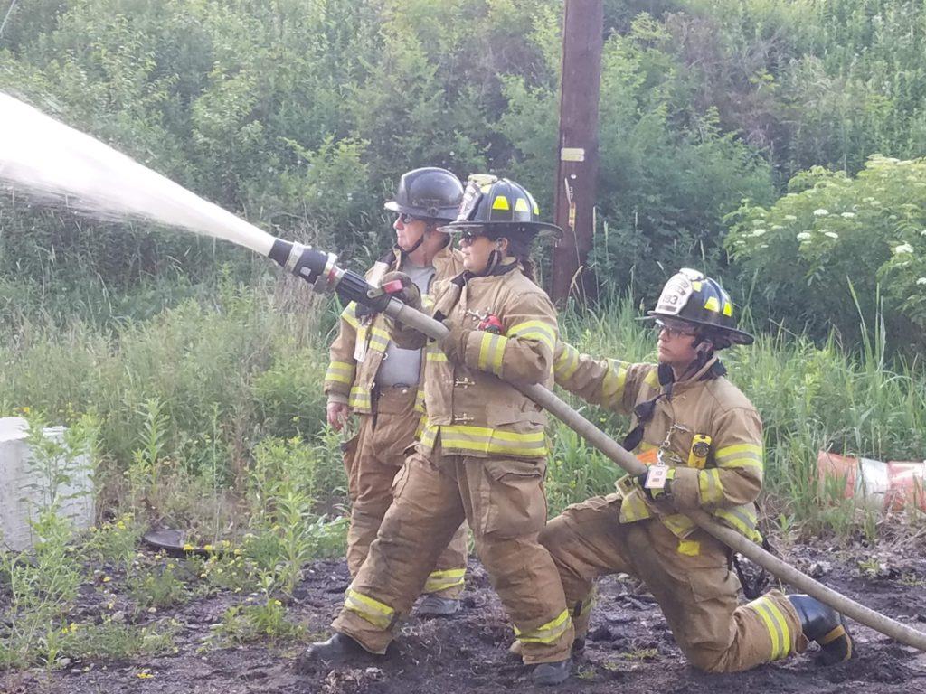June 2018 Foam Firefighting Class